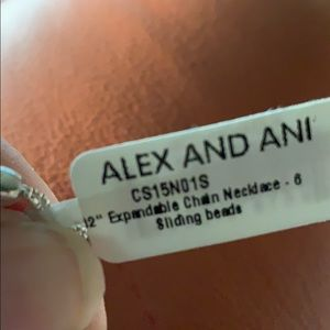 "16""-32"" Expandable Chain Necklace Alex and Ani NWT"